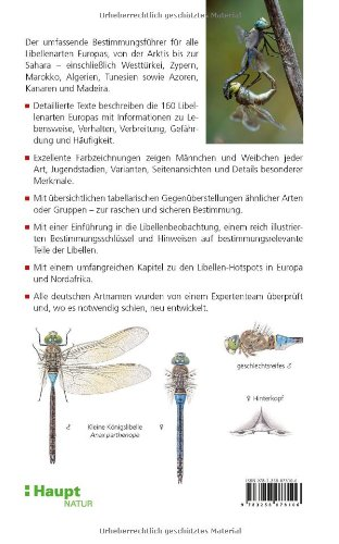 Libellen Europas: Der Bestimmungsführer: Amazon.co.uk: Klaas-Douwe B ...