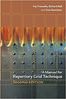 A Manual for Repertory Grid Technique (Psychology)