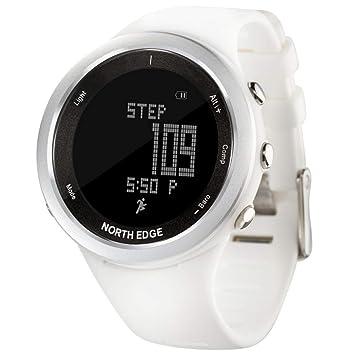 YUHANH Reloj Deportivo Mujer Altímetro Barómetro Termómetro Brújula Monitor De Ritmo Cardíaco Podómetro Reloj De Escalada Digital Corriendo: Amazon.es: ...