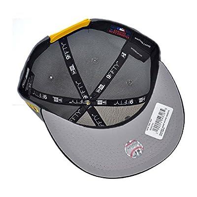 New Era Pittsburgh Pirates Shaded Men's Snapback Hat Grey/Black/Yellow 80340744