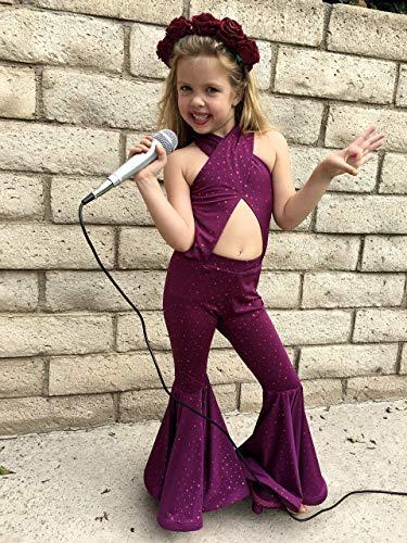 Selena Purple Costume Girls outfit]()
