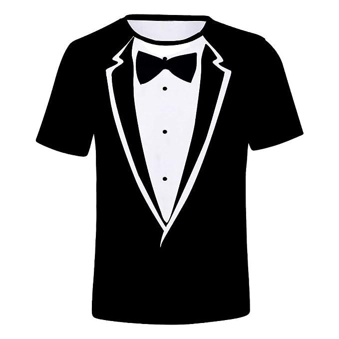 XuanhaFU Mezcla de Algodón de Algodón tee Shirt 1 Pack ...