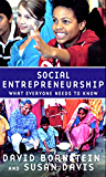 Social Entrepreneurship: What Everyone Needs to Know?