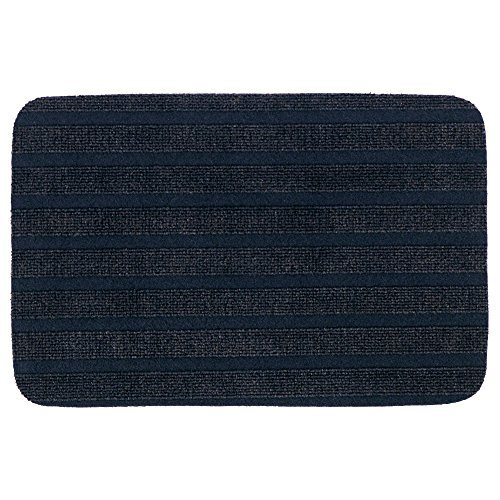Price comparison product image IKEA BORRIS Dark Blue Door Mats (Pack of 2)