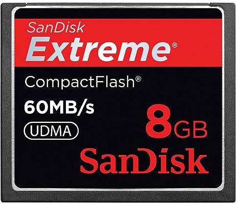 Sandisk Extreme CompactFlash 8B Memoria Flash 8 GB - Tarjeta de ...