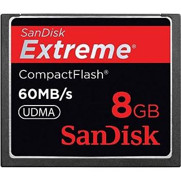 Sandisk Extreme CompactFlash 8B memoria flash 8 GB - Tarjeta ...