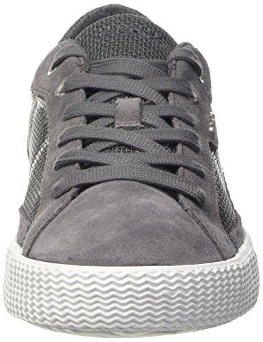 Geox U Smart I, Men's Low-Top Sneakers Grigio (Dk Grey)
