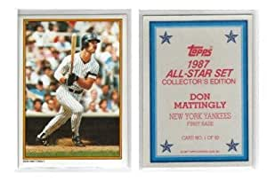 1987 Topps Glossy All Star Send In Baseball Card Don