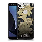 Official HBO Game of Thrones Westeros Map Key Art Soft Gel Case for Google Pixel 3