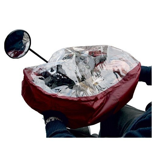 Kozee Komforts Delta Steering Tiller Cover For Mobility Scooter - Small - Maroon by Kozee Komforts