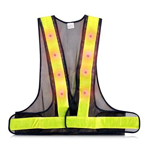 Hi Viz Vest With Led Lights in US - 1
