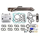 SCITOO Upgraded Oil Cooler With EGR Cooler Kit For Ford E350 450 F350 450 EXCURSION 6.0L Powerstroke Diesel Turbo