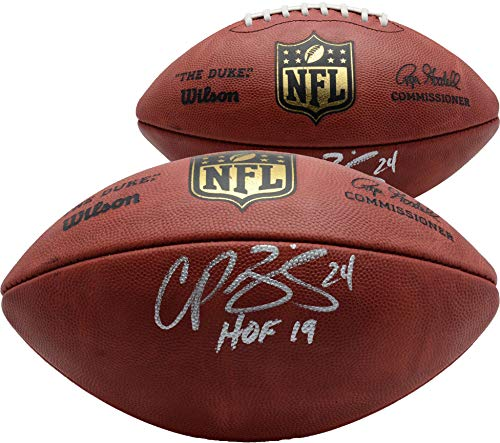 Champ Bailey Denver Broncos Autographed Duke Pro Football with