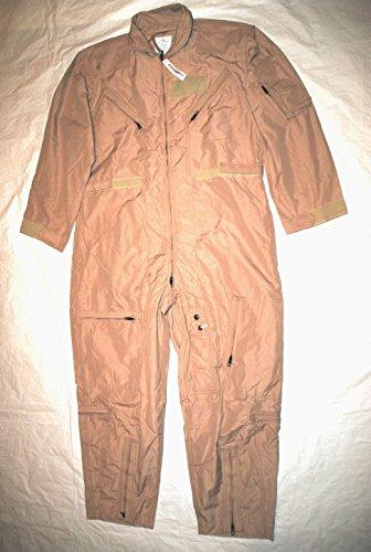 Genuine Us Air Force Nomex Fire Resistant Flight Suit Cwu-27/p - Size 48L ()
