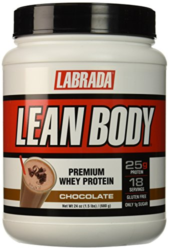 Labrada Nutrition Lean Body Premium Whey Protein Powder, Chocolate, 24 Ounce