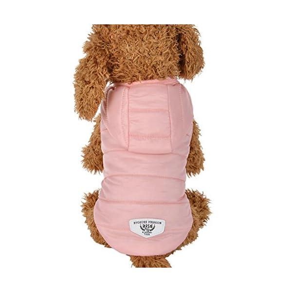 RETUROM-Ropa-para-Mascotas-Abrigo-Grueso-Invierno-Acolchado-Caliente-Chaleco-Ropa-para-Mascotas