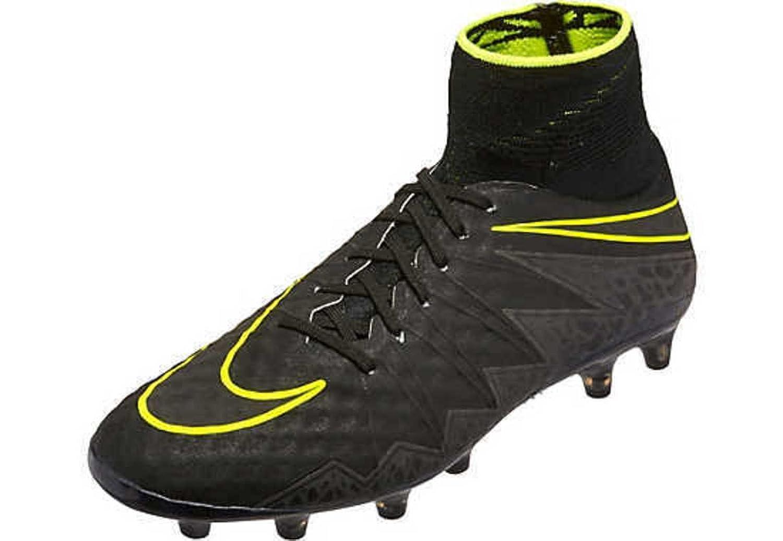 Nike MEN'S HYPERVENOM PHANTOM II AG-PRO - (Black/Black-Volt) (10) B01IO41F52 Parent