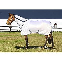 TuffRider Sport Mesh Combo Neck Fly Sheet White 72
