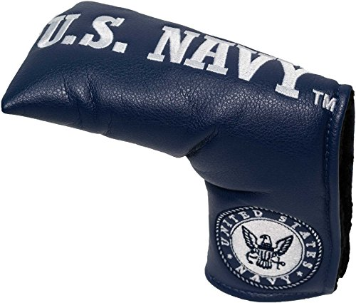 Team Golf Military Navy Golf Club Vintage Blade Putter Headcover, Form Fitting Design, Fits Scotty Cameron, Taylormade, Odyssey, Titleist, Ping, Callaway