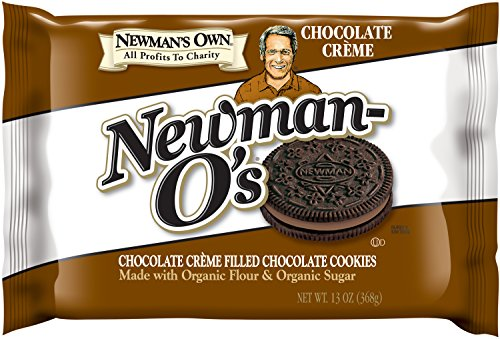 (Newman's Own Newman-O's, Chocolate Crème Filled Chocolate Cookies, 13-Ounce Packages (Pack of 6))