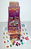 "72 Packages of Crazy Bones ""Things"" New in Foil Package"