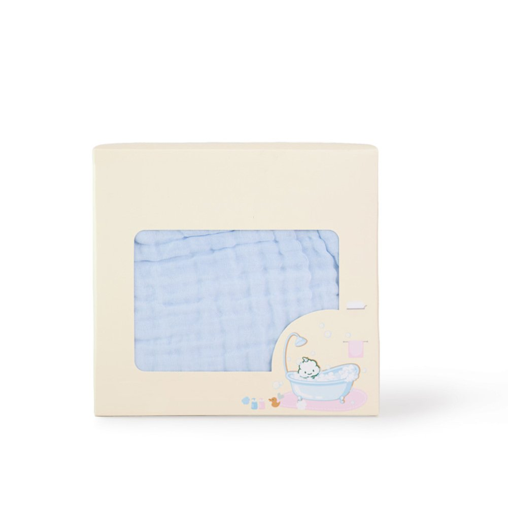 W&lx Baby cotton gauze towel, Super soft Super absorbent gauze Baby blanket (One piece)-B 80x140cm(31x55inch) by W&lx