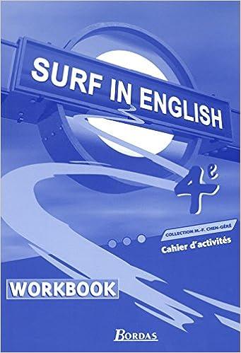 Livres SURF IN ENGLISH 4E TP 2002 pdf epub