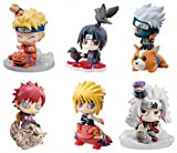 Rosy Women Naruto The Beast 2Generation 6Piece/1Set Pvc Action Figure Collection Model Toys Doll 6Cm