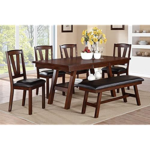 rustic kitchen table sets amazon com