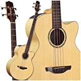 Takamine G Series EG512C Super Jumbo Acoustic Electric Bass, Natural