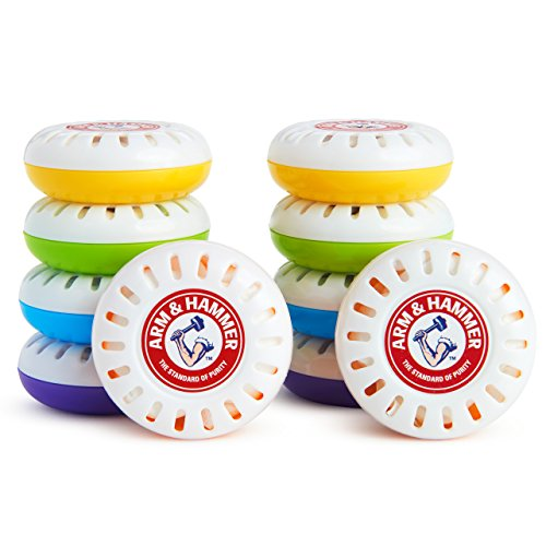 Munchkin Arm and Hammer Nursery Fresheners, Assorted Scents of Lavender or Citrus, 10 Count ()