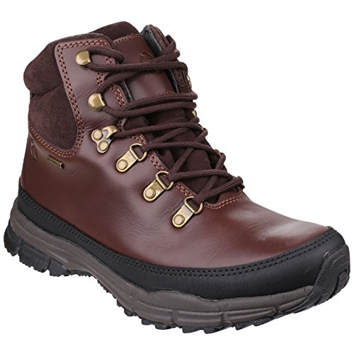 Cotswold Womens/Ladies Beacon Waterproof Leather Walking Hiking Boots Brown