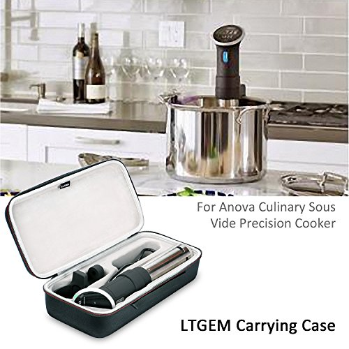 Large Product Image of LTGEM Case for Anova Culinary Bluetooth Sous Vide Precision Cooker, 800 Watts or Anova Sous Vide Precision Cooker, WIFI 2nd Gen, 900 Watts