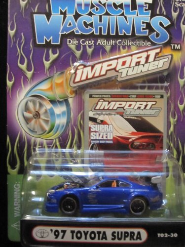- 97 Toyota Supra (blue) Import Tuner By Muscle Machines