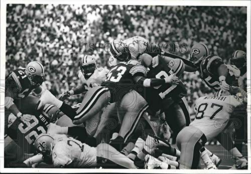 Vintage Photos 1993 Press Photo Green Bay Packers Make Successful Goal line Stand Versus -