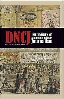 Book Dictionary of Nineteenth-Century Journalism