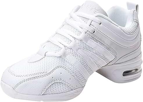 Posional Zapatillas De Deporte Deportivas De AbsorcióN De Choque Al Aire Libre para Mujer Zapatos De Baile Casuales De Moda: Amazon.es: Ropa y accesorios