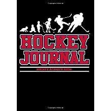 Hockey Journal: Hockey Notebook & Personal Stats Tracker 100 Games