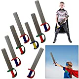 dazzling toys Pack of 12 17'' Inch Foam Prince Sword | Costume Accessory