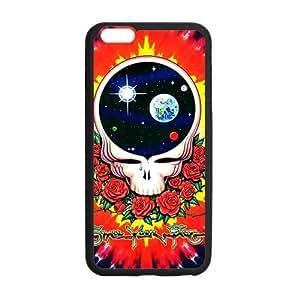 Customize TPU Gel Skin Case Cover for iphone 6+, iphone 6 plus Cover (5.5 inch), Grateful Dead