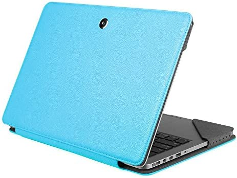 Fintie Sleeve Case for MacBook Pro 13 Retina, Premium PU Leather Protective Book Cover for MacBook Pro 13.3″ with Retina Display (A1502 / A1425), [NOT Fit Non-Retina Pro 13 A1280], Blue