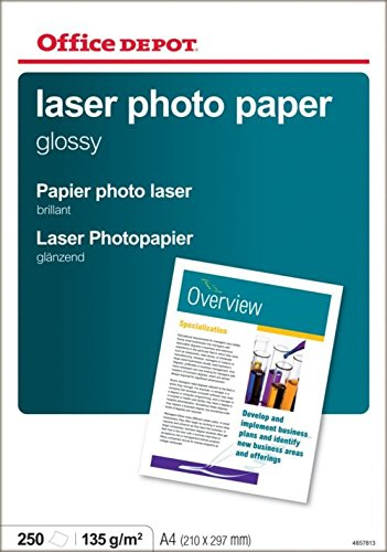 Office Depot - Papel Fotográfico Láser Brillo A4 135 Gr ...