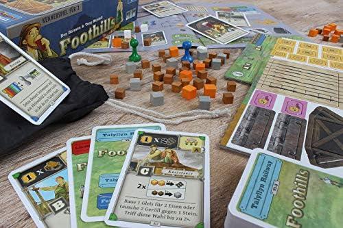 Lookout Games 22160110 Foothills - Juego de Mesa (Contenido en alemán): Amazon.es: Juguetes y juegos