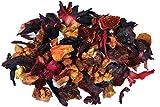Wild Cherry Hibiscus Fruit Tea - Loose Leaf Herbal Tea - Fusion Teas - 6oz Pouch