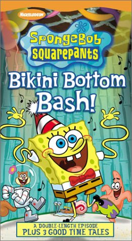 SpongeBob SquarePants -  Bikini Bottom Bash [VHS] (Tapes Sell Vhs)