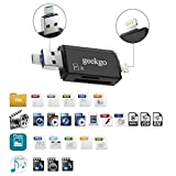 geekgo SD Card Reader,Micro SD TF USB Memory Card
