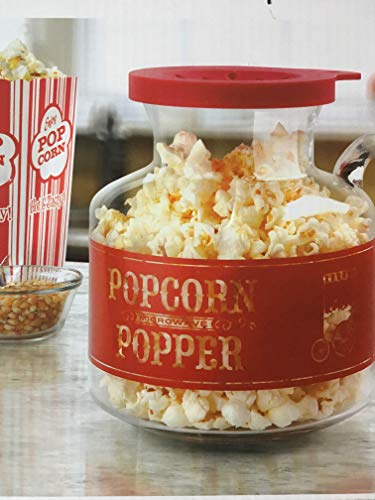 Home Collection Microwave Popcorn Popper - Red