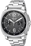 Nixon Men's 'Charger Chrono' Quartz Metal and Stainless Steel Watch, Color:Silver-Toned (Model: A1071000-00)