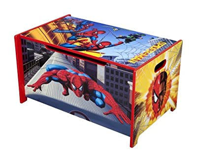 Delta Enterprise Spiderman Toy Box