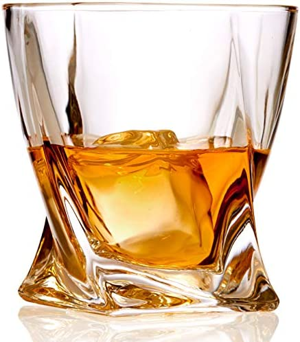 Whiskey Glasses Crystal Fashioned Bourbon product image